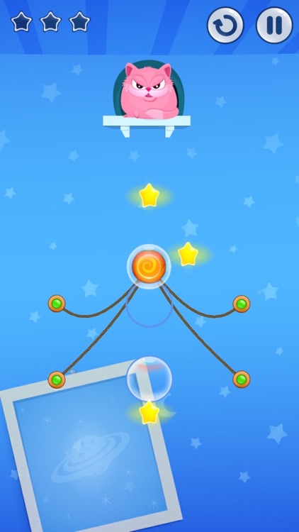 Hungry Cat Sketch Breaker Free Puzzle Physics Games screenshot-4