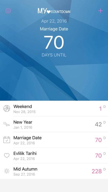 My Countdown App