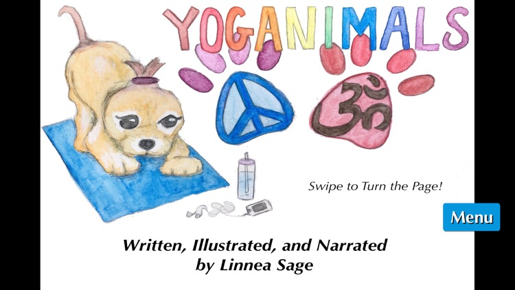 "Yoga for Kids! YOGANIMALS: A children's ""read-to-me"" yoga book!"