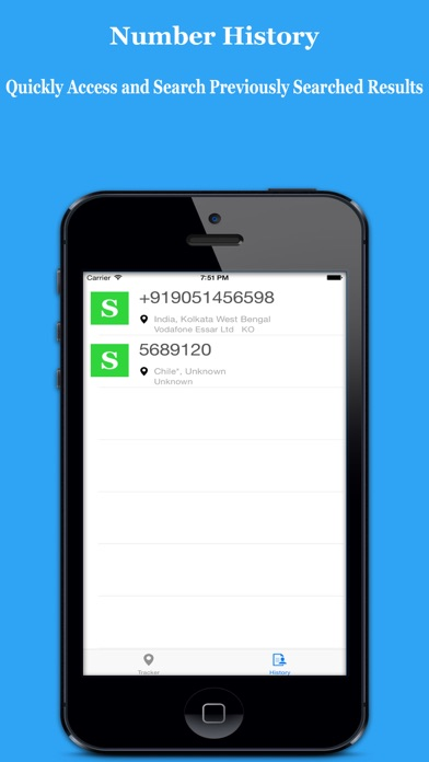 Screenshot for Search & Track Number - Mobile Number Tracker Unlimited in India App Store