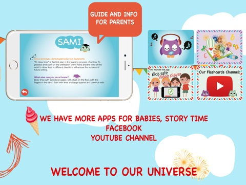 Screenshot #4 for Sami Apps - Kids Education Apps