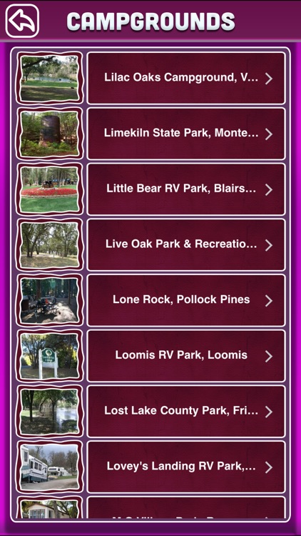California Campgrounds Offline Guide