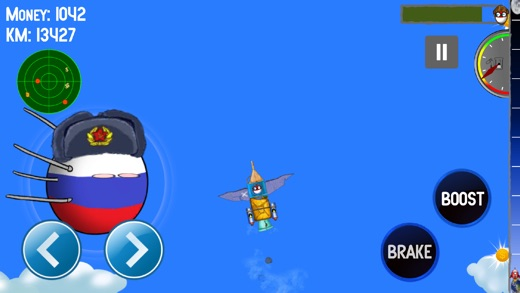 Polandball: Can into Space Screenshot