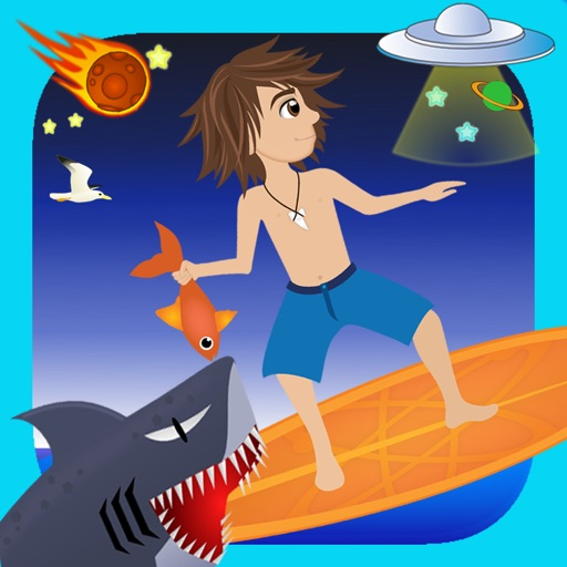 Space Surf : Shark Attack