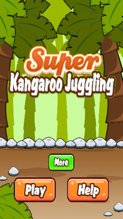 Super Kangaroo Juggling - Hold The Ball In The Air
