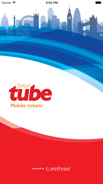Oxford Tube Mobile Ticket screenshot one