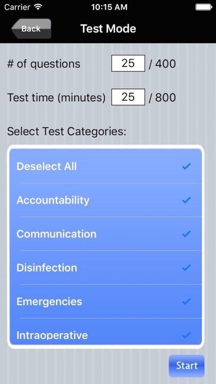 Operating Room Nurse Exam Prep screenshot-3