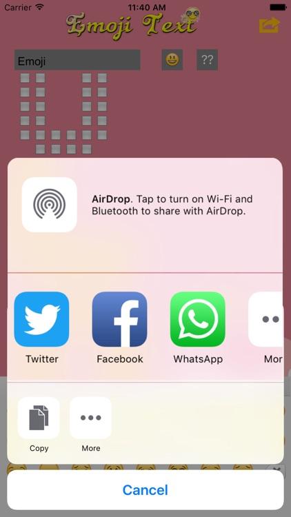 Emoji Chats screenshot-4