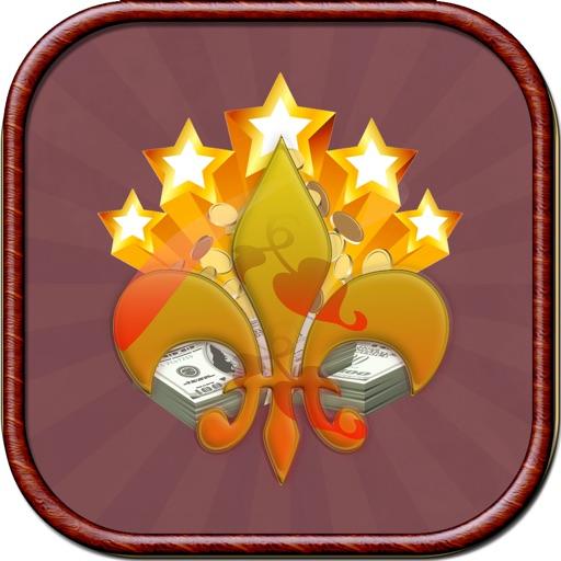 5 Five Golden Stars Casino - Free Entertainment Slots Machine