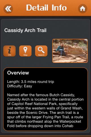 Hiking in Capitol Reef National Park screenshot 3
