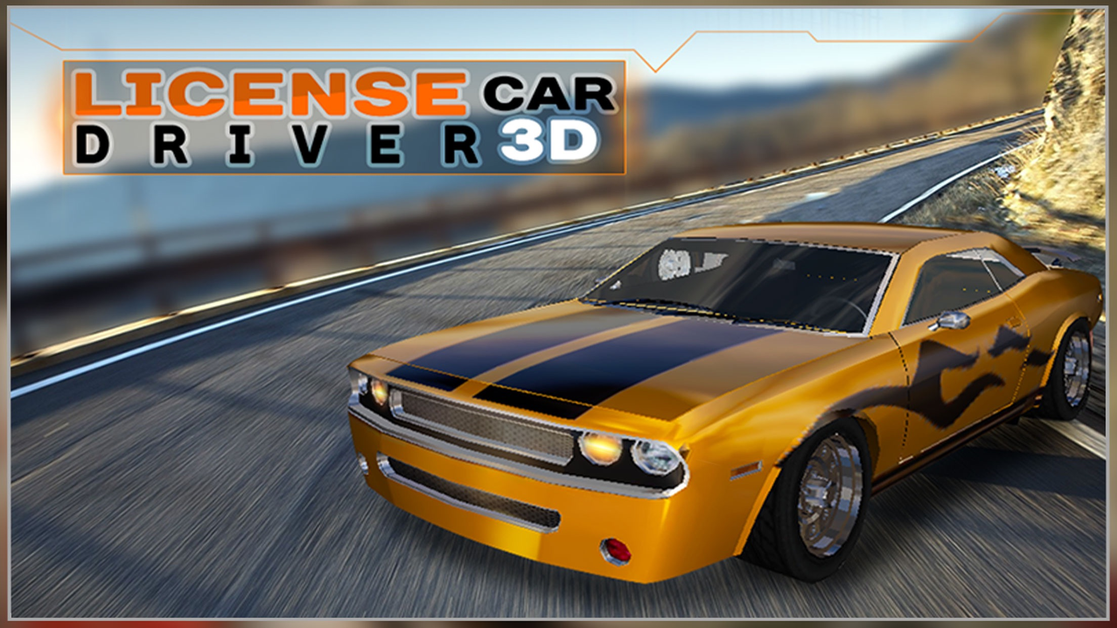 Real Extreme Racing Car Driving Simulator Free 3D Screenshot