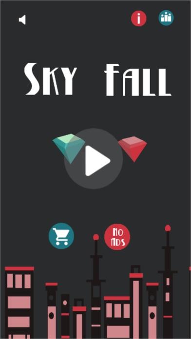 Sky Fall - 不可能旅のスクリーンショット1