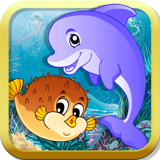 Adventure Puzzle for kids & toddlers: Ocean Edition