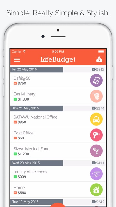 Life Budget - Personal Finance & Money Management screenshot