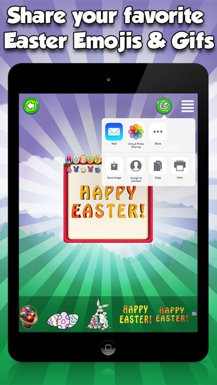 Happy Easter Emojis & GIFs screenshot-4