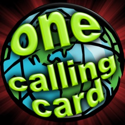 One Calling Card - long distance international VoIP phone card
