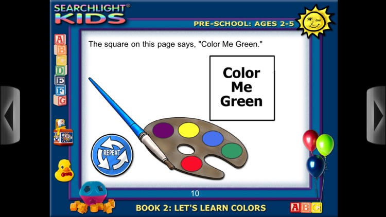 Searchlight® Kids: Let's Learn Colors