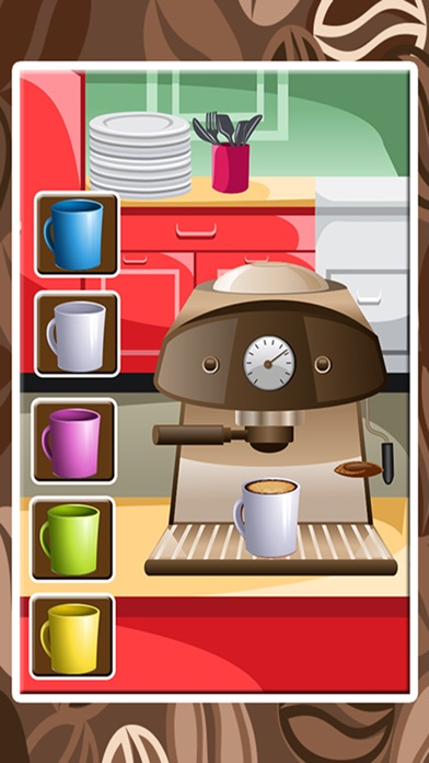 点击获取Coffee Maker – Make latte in this chef cooking game for little kids