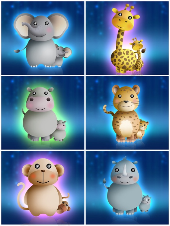 Baby night tales HD : stories and night lights for toddlers screenshot-3