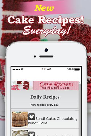 Cake Recipes! screenshot 2