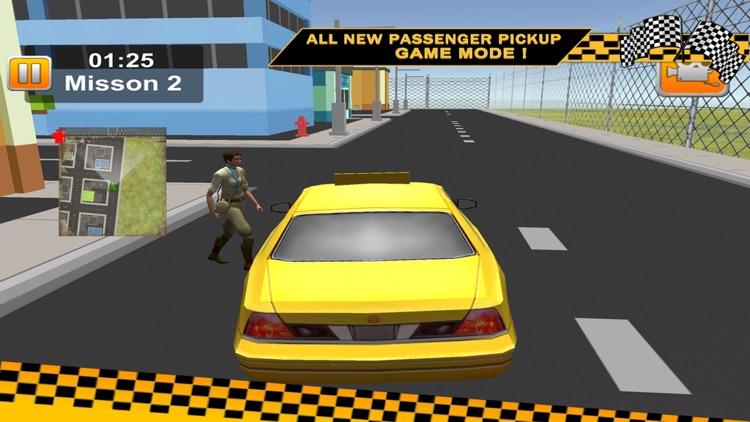 3D Taxi Car Driver Parking Game screenshot-3
