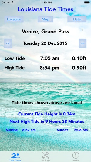 Louisiana Tide Times On The App Store