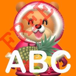 パクパク英語 クマさんに餌をあたえて学ぶ(Fruit編)FREE版
