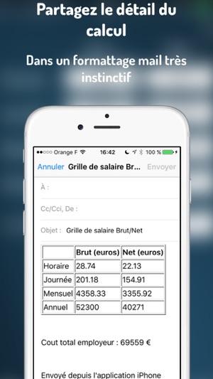 Brutaunet Calculer Votre Salaire Brut Ou Net Dans L App Store