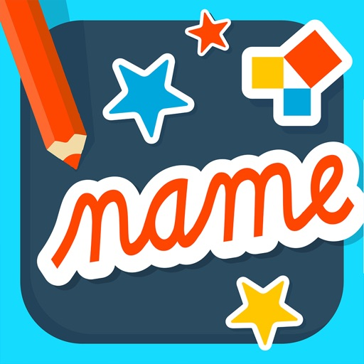 Name Play: a name reading and writing practice kit
