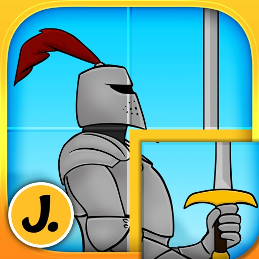 Kids & Play Brave Knights and Dragons Puzzles for Toddlers and Preschoolers - Free
