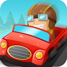 Real Auto Drag Car Racing Track & Police Car Chase