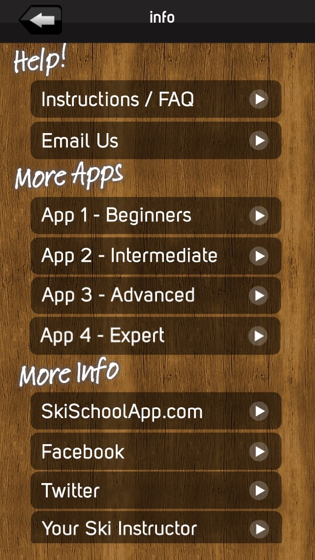 Screenshot for Ski School Advanced in Chile App Store
