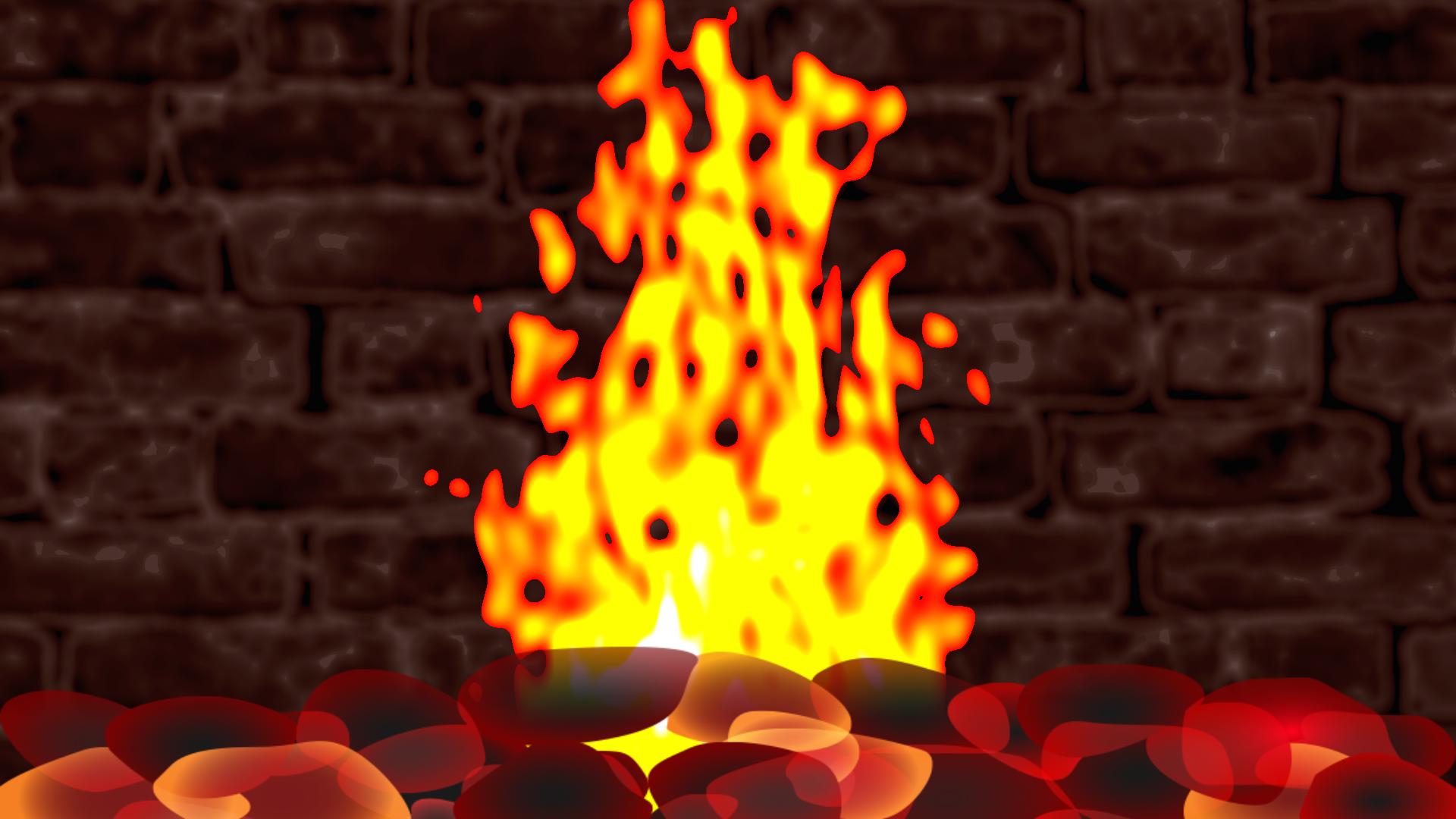 Sensory Flames - Free Fireplace for your TV screenshot 1