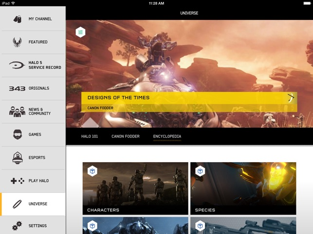 Halo Channel on the App Store