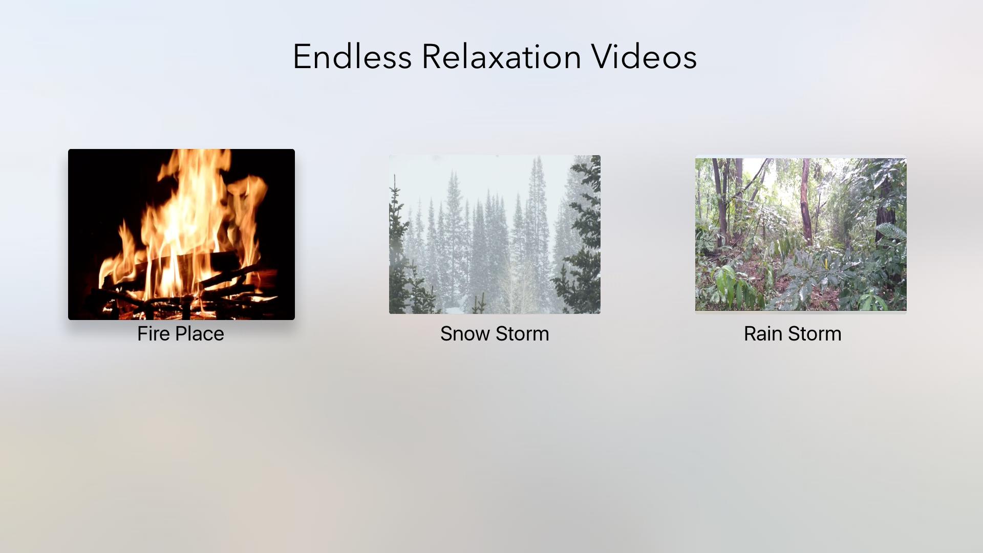 Endless Relaxation Videos screenshot 1