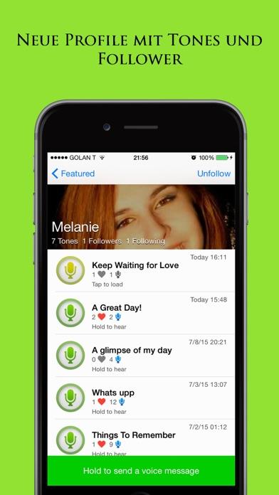 Tintone: Treffen Sie neue Leute Freunde durch ChatScreenshot von 4