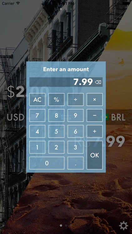 Currencies On The Move - The easiest converter