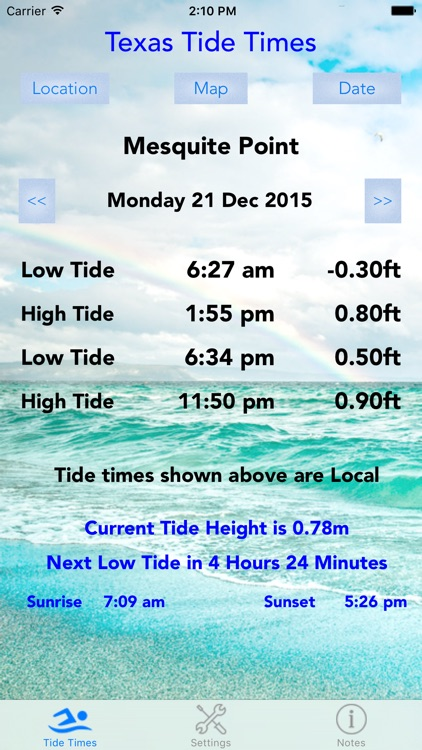 Texas Tide Times screenshot-4