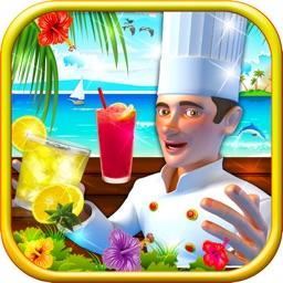 Summer Drinks: Beach Party - Fries, Popsicle, Lemonade & Sandwich Shop Game For Kids & Teens