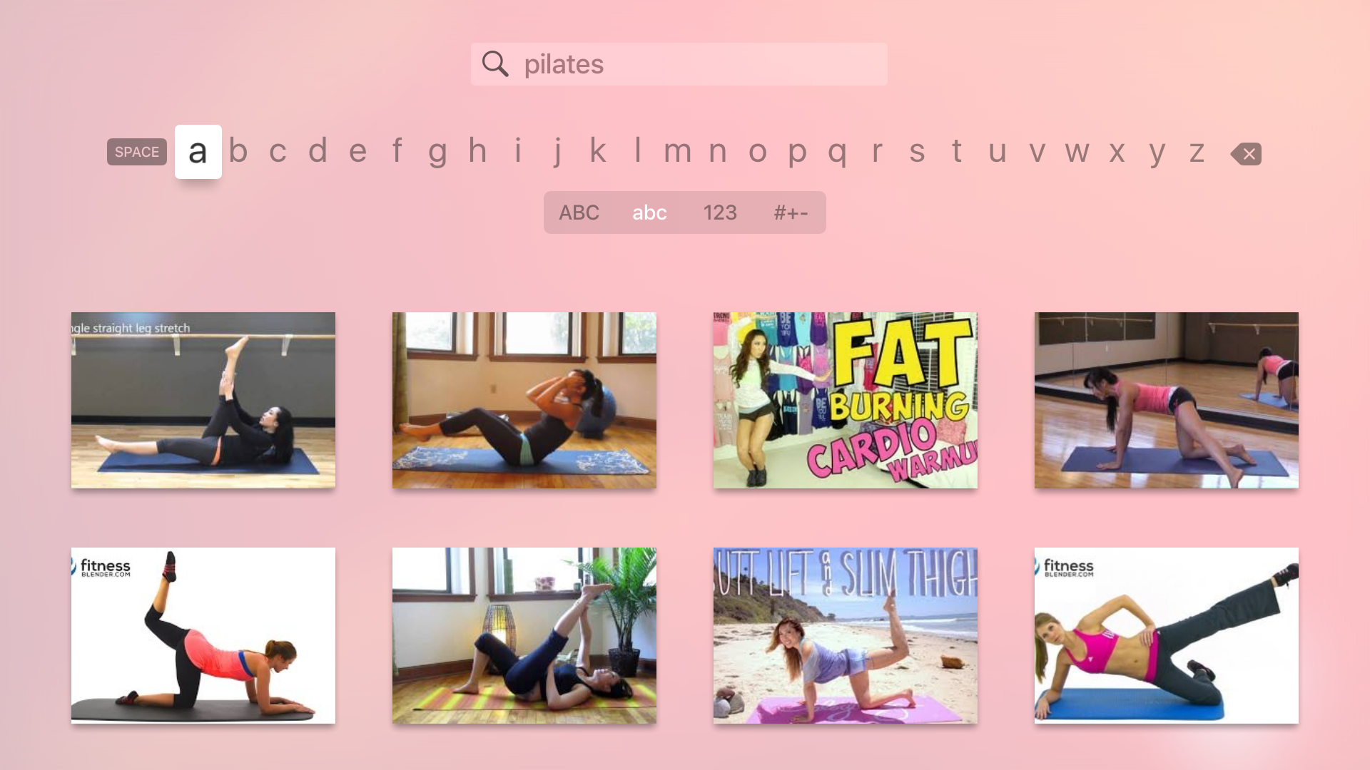 Fitness Videos - Pilates, Yoga, Zumba, Core Strength Workouts! screenshot 12