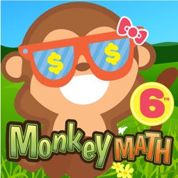 6th Grade Math Curriculum Monkey School Free game for kids