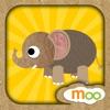动物园的野生动物 - 儿童益智游戏 , 动物叫声, 图画书, 拼图游戏 (英语, 国語)