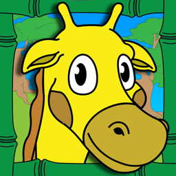 Ícone do app Colorindo Toque Zoo Animal Para Cor Coloring Book de atividades para crianças e Edição Família Pré-escolar final Coloring Animal Zoo Touch To Color Activity Coloring Book For Kids and Family Preschool Ultimate Edition