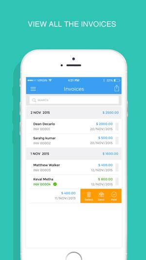 invoicemaker simple invoice maker to send pdf invoices estimates
