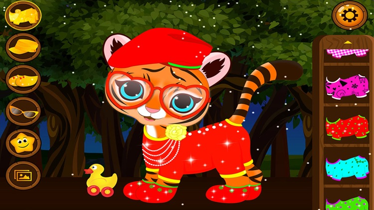 Baby Tiger Salon screenshot-3