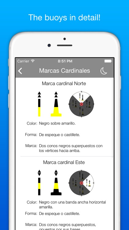 Marinus: boating rules ColRegs / IRPCS / IALA screenshot-3