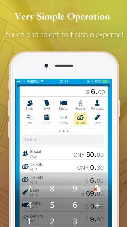 Budget and expense tracking screenshot-3