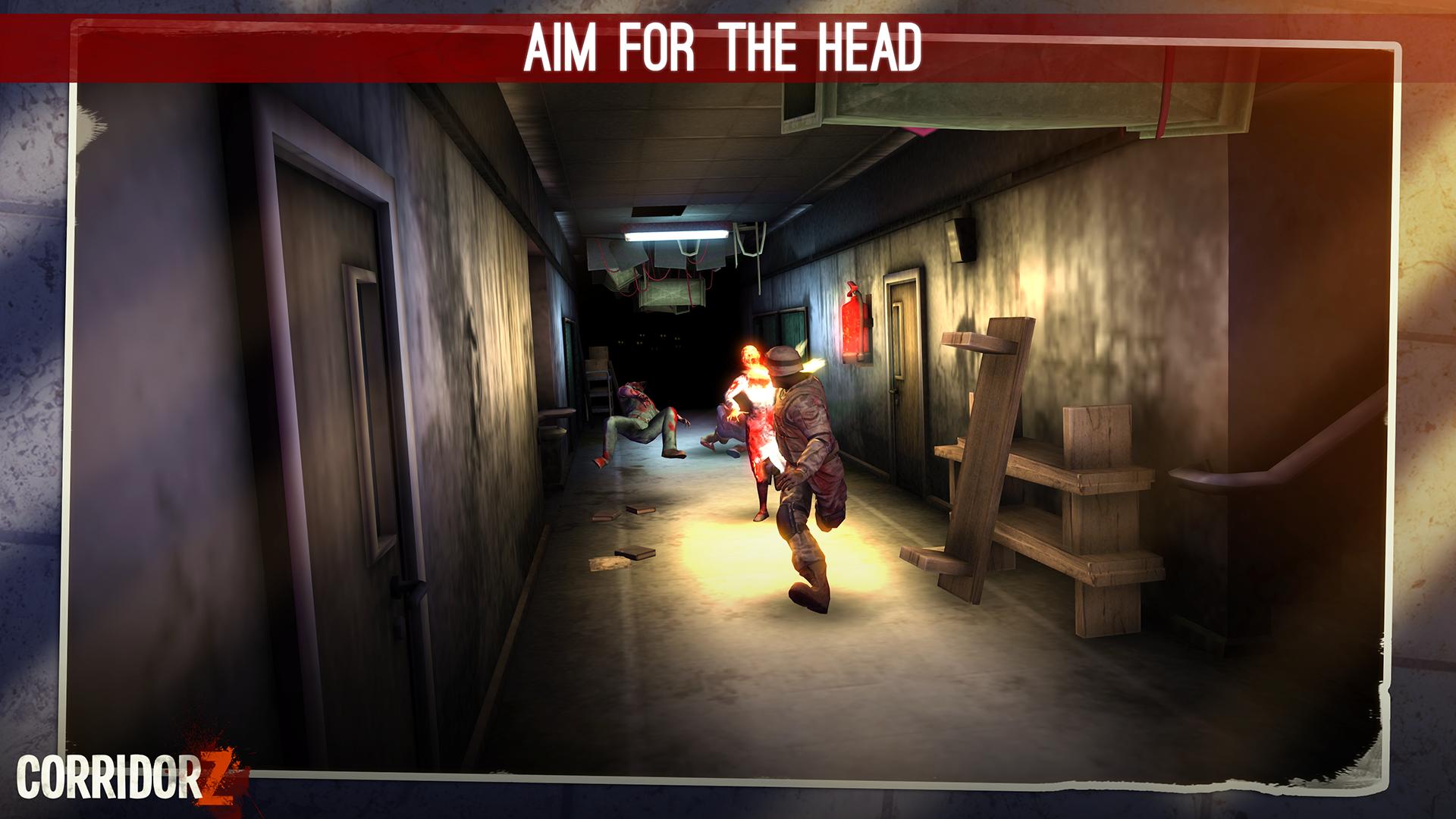 Corridor Z - Inverted Zombie Runner screenshot 17