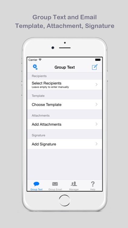 Group Text and Email: List, Group and Smart Group Manager