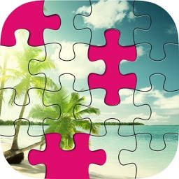 Beach Jigsaw Pro - World Of Brain Teasers Puzzles